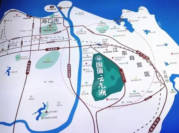 国瑞·云龙湖位置图