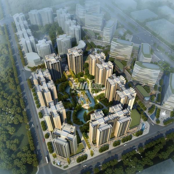 成都北京城建龙樾熙城高清图