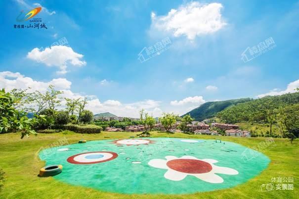 碧桂园山河城实景图