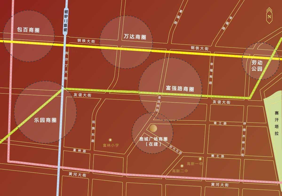 鹿城上院位置图