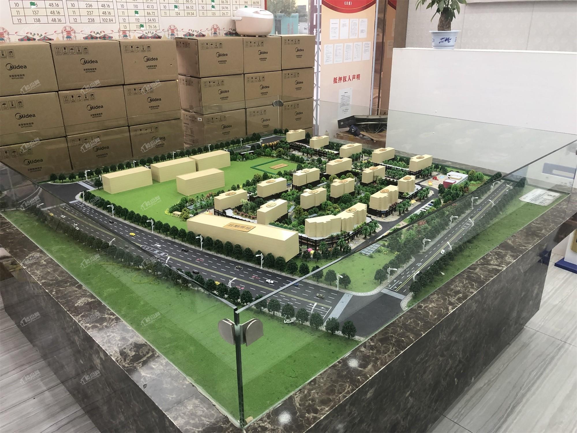 城中广场实景图