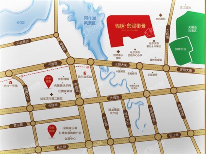 锦绣·东润御景位置图