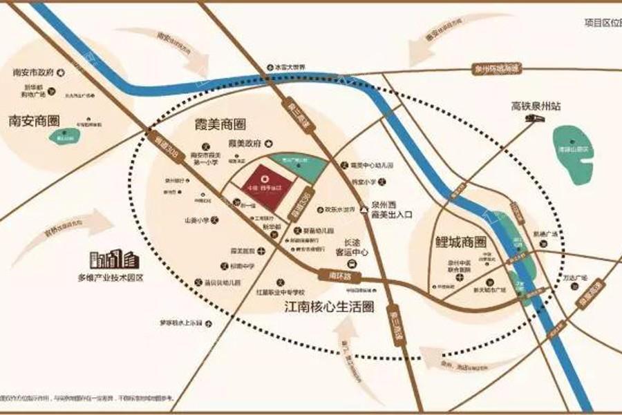 中骏四季丽景位置图