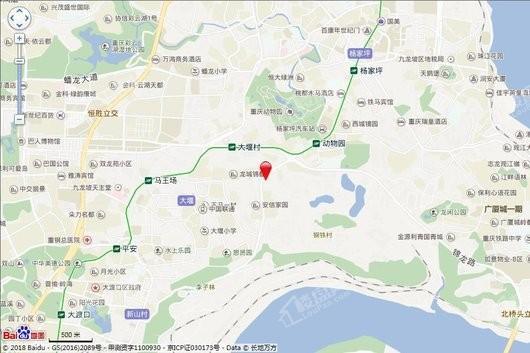中建·龙玺台交通图