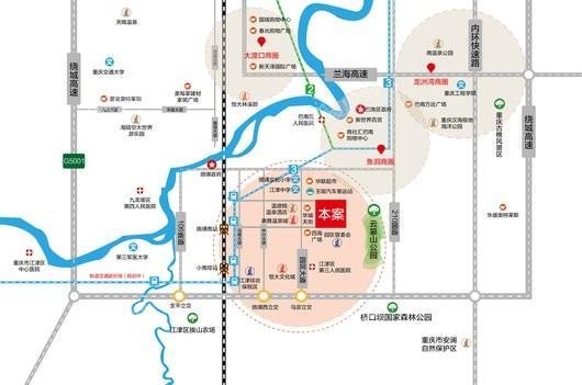 富源广场交通图