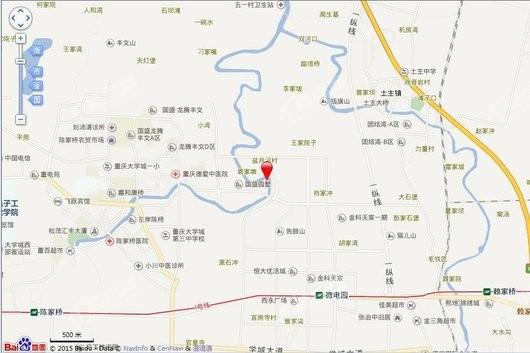 融创重庆文旅城十方街交通图