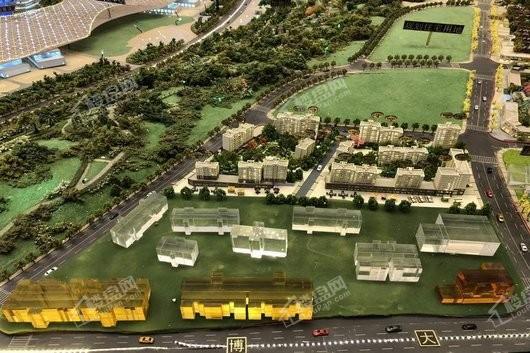 国博城实景图