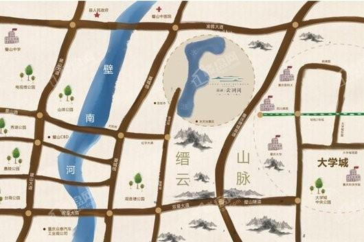 新鸥鹏·凤凰城交通图