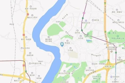 新江与城·天越交通图