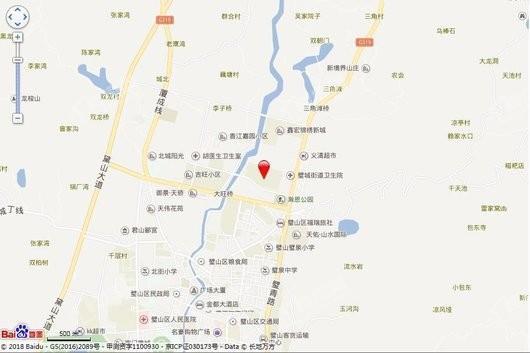中国铁建·香漫溪岸交通图