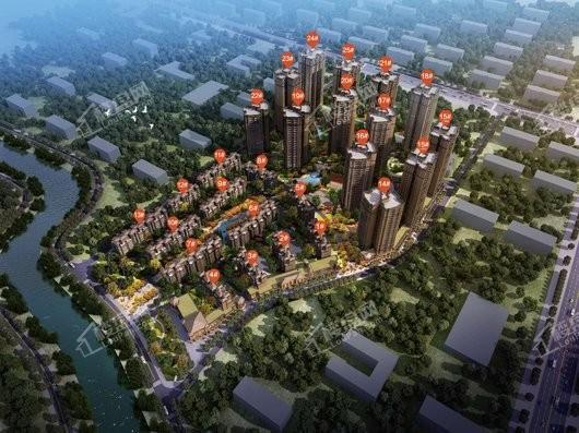 中国铁建·香漫溪岸效果图