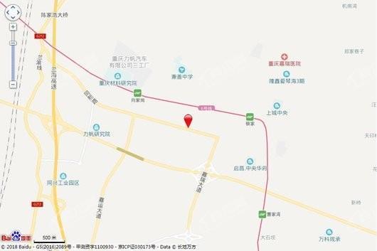 中庚春光里交通图