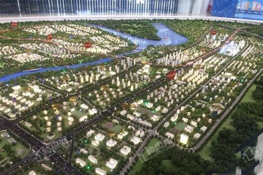 巴南新鸥鹏教育城商业街实景图