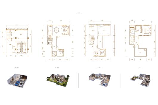 龙兴 · 国际生态新城户型图