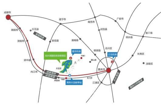 重庆桃李春风交通图
