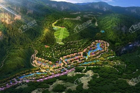 天湖国际度假中心效果图