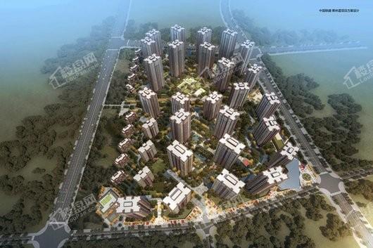 中国铁建·東林道效果图