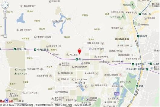 龙江·鹿山壹号交通图
