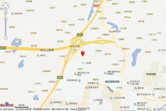 远洋朗基·枫桦四季交通图