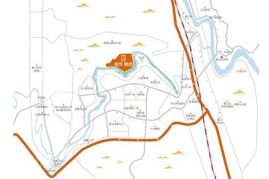 橙珲·随园交通图