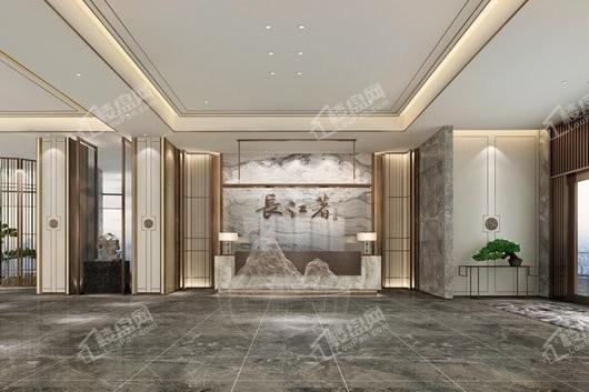 裕城·长江著实景图