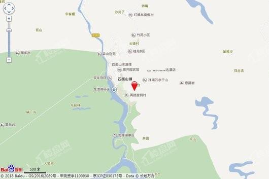 雲山小镇交通图