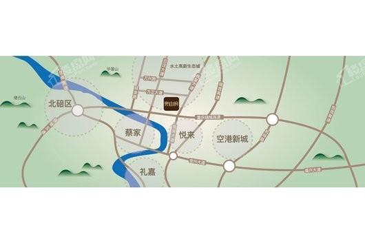 奥山府交通图