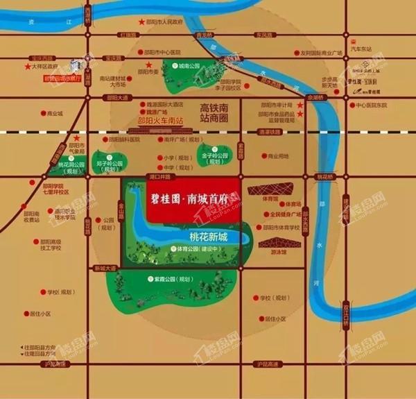 碧桂园·南城首府位置图