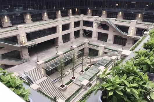 新朝阳广场实景图