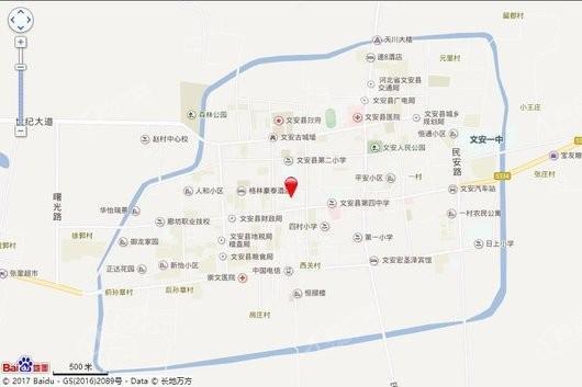 湖畔新都孔雀城交通图