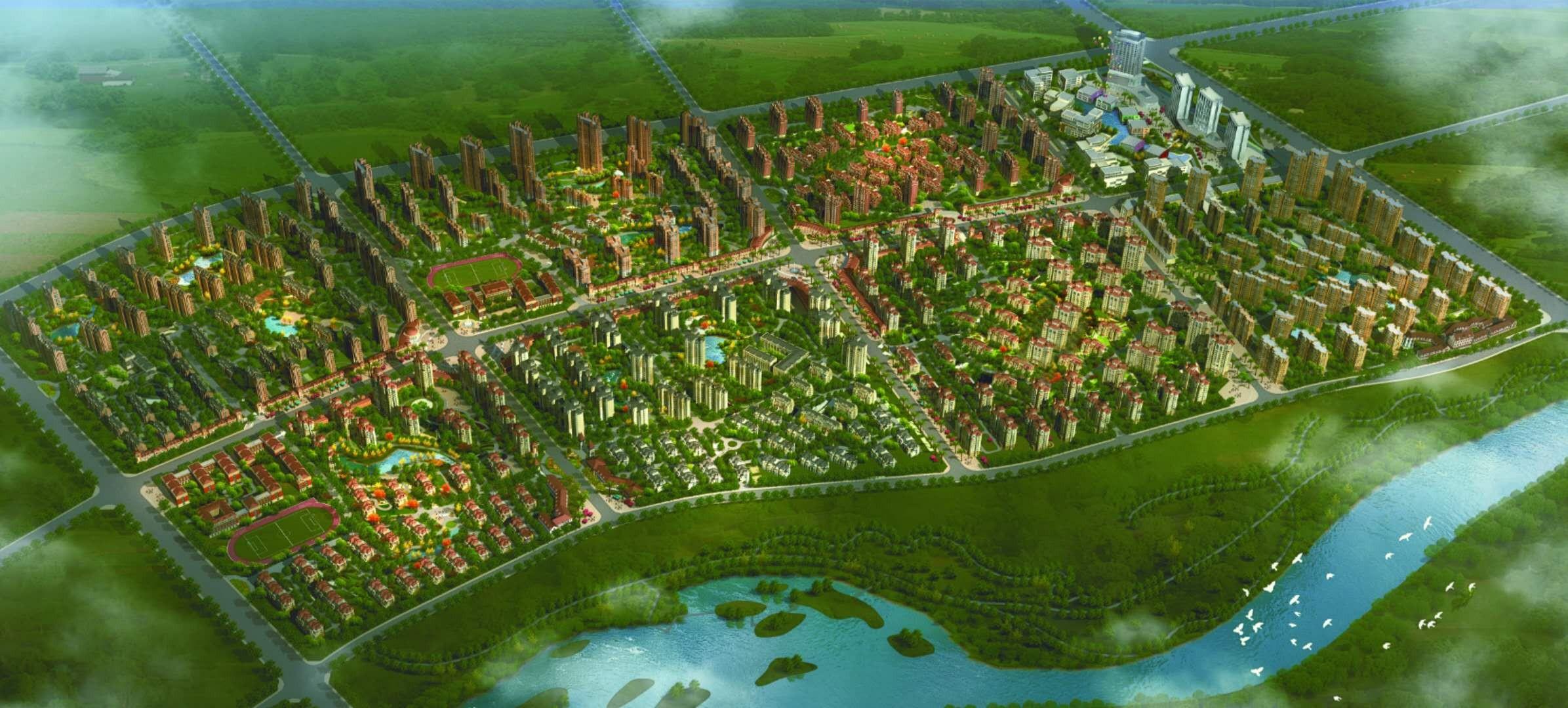 光明海上海效果图