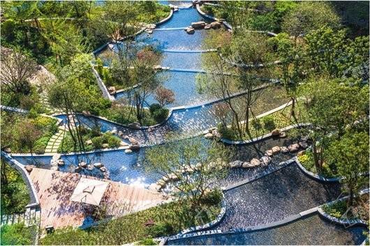 实地·广州蔷薇国际实景图