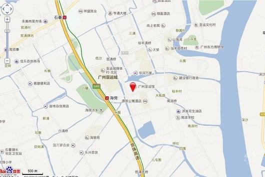 碧桂园·寓见亚运城交通图