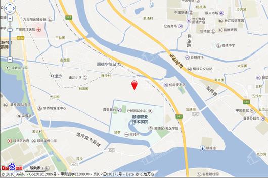 中洲府交通图