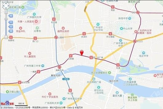 粤海拾桂府交通图