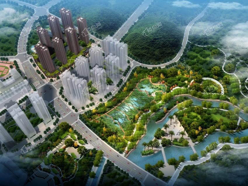 中環國際·公園1號效果圖