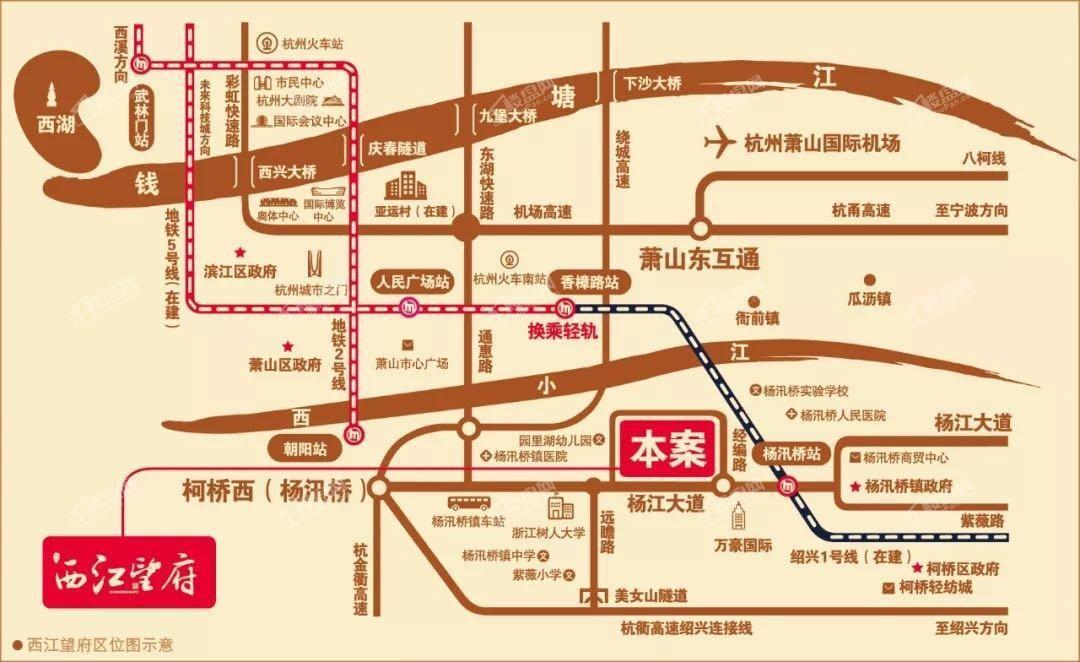 欣明西江望府位置图