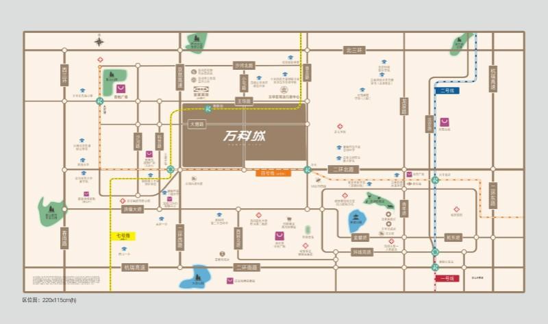 万科城位置图
