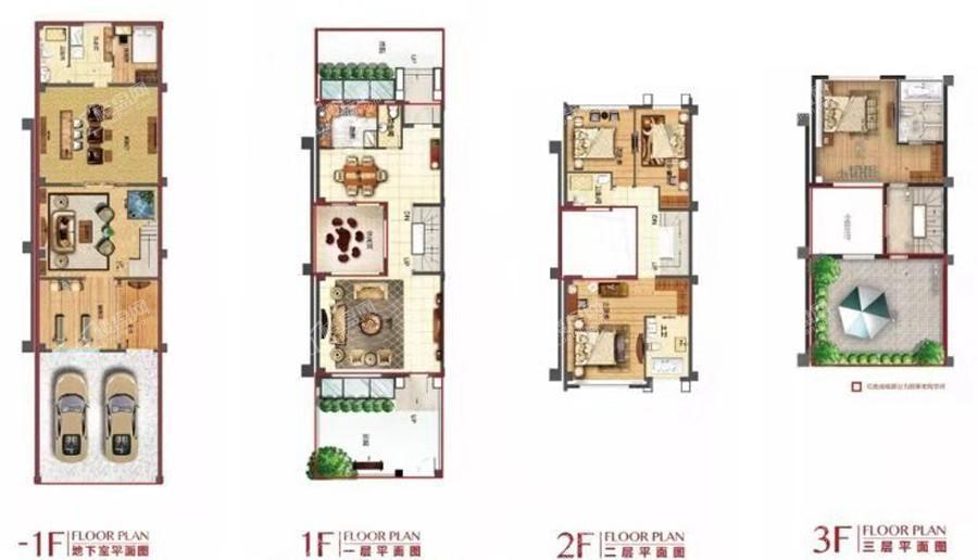 美院92别墅户型图