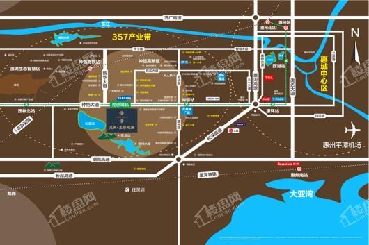 禹洲·嘉誉观澜交通图