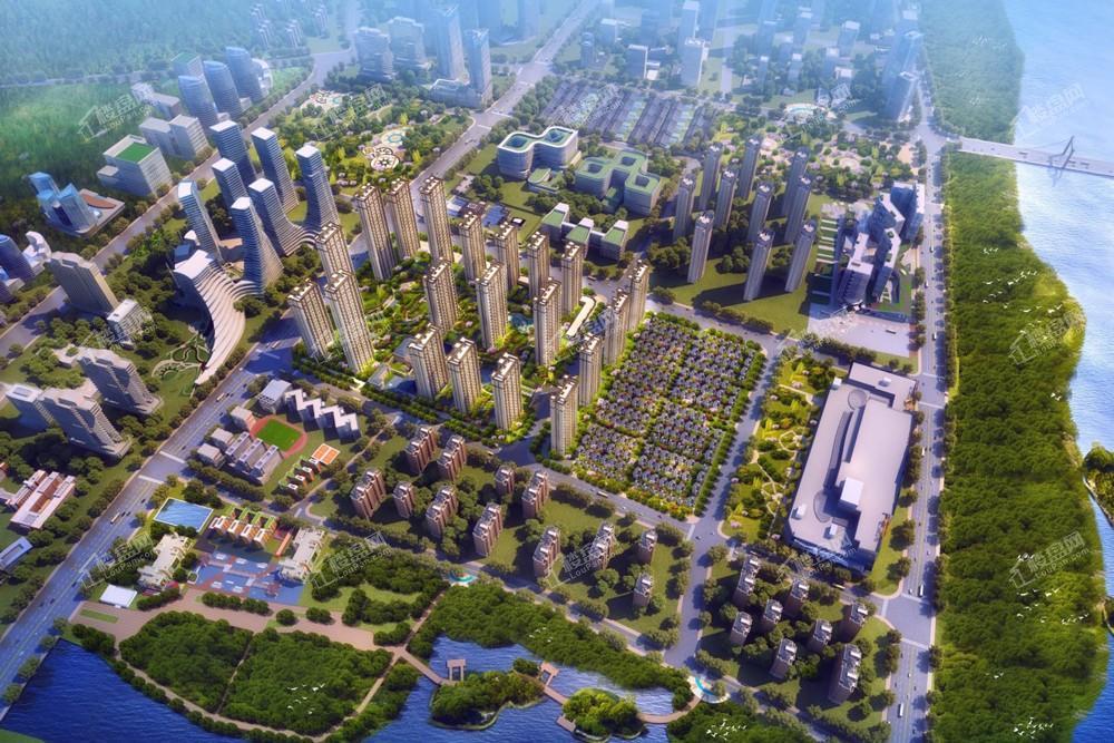 泰禾红树湾院子效果图