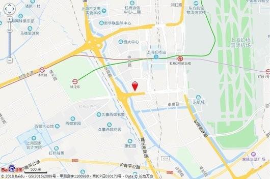 上海富力环球中心交通图