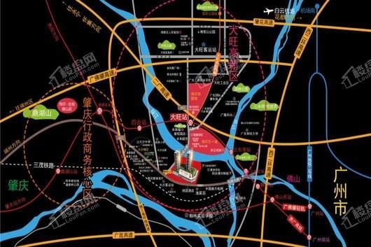 海印·尚荟四季交通图