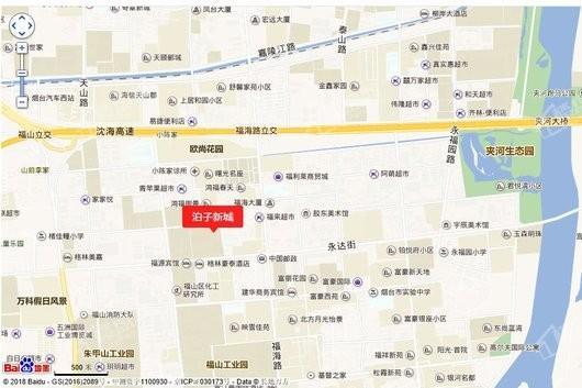 泊子新城交通图