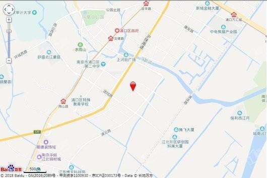 悦江府交通图