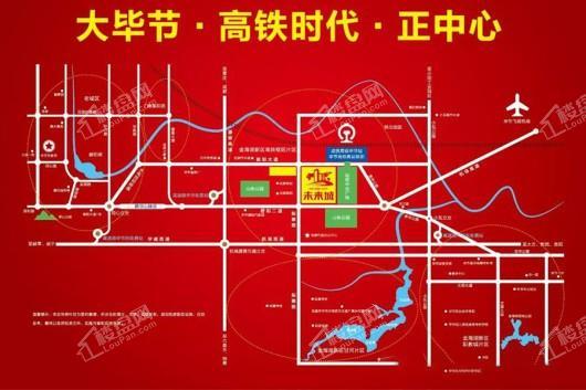 未来城交通图