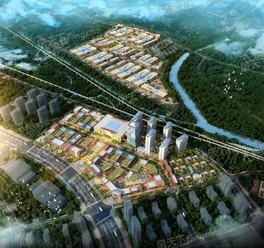 西部国际石材产业城效果图