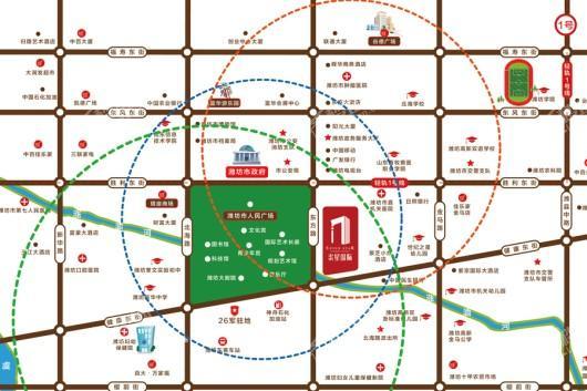 柒星国际交通图