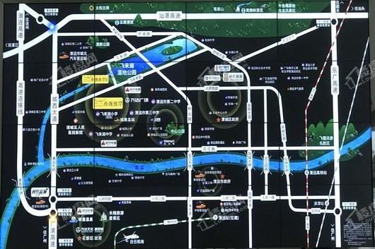 时代香海彼岸交通图