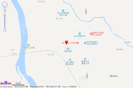 潍广岞山文化广场交通图